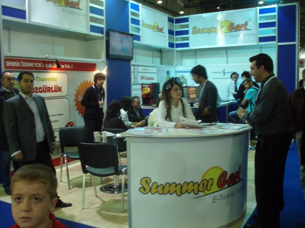 Щандът на Summer Cart  в CeBIT Евразия