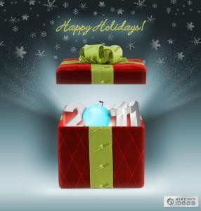Онлайн търговията около Коледа